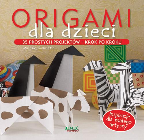 książki dla dzieci origami dla dzieci