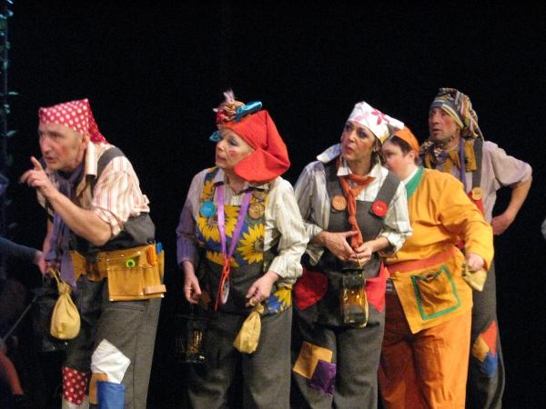 Mieście » spektakle dla dzieci » królewna śnieżka - teatr