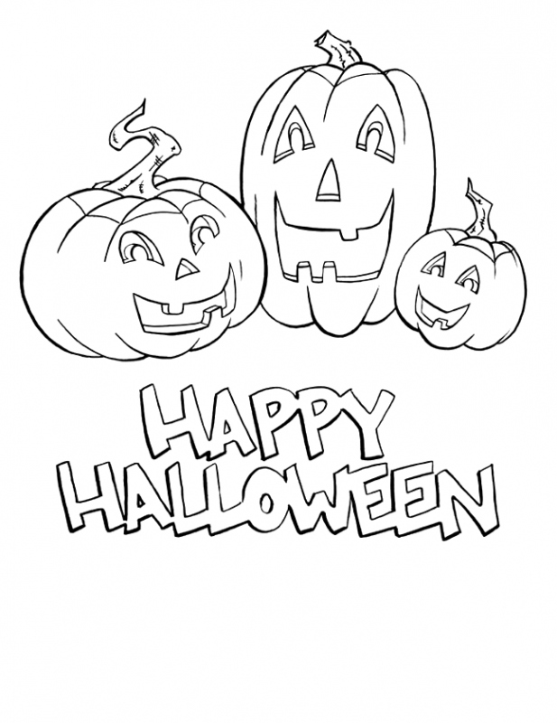 word halloween coloring pages - photo#27