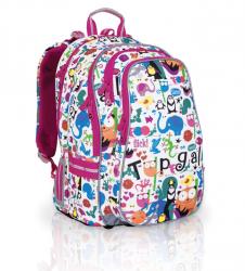 d3bd77dbf6bfe Plecak świetnie sprawdzi się w przypadku tych dzieci, które chodzą do szkoły  z wieloma zajęciami pozalekcyjnymi lub spędzają wiele godzin w świetlicy ...