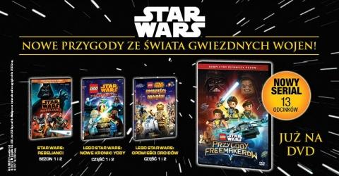 Lego Star Wars Przygody Freemakerów Na Dvd Czas Dzieci