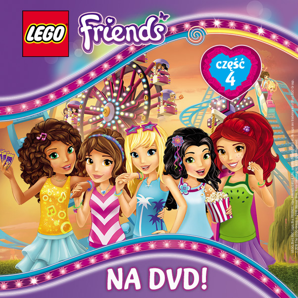 Lego Friends Część 4 Na Dvd Czas Dzieci