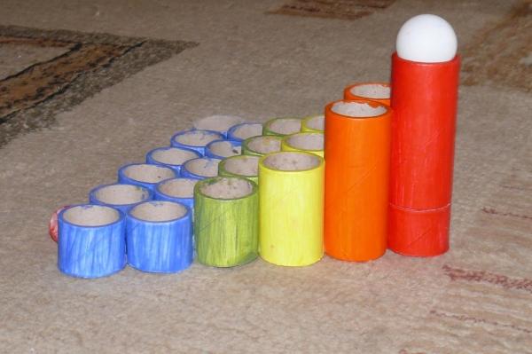 Prosta Zabawka Z Rolek Po Papierze Toaletowym Diy Czas Dzieci