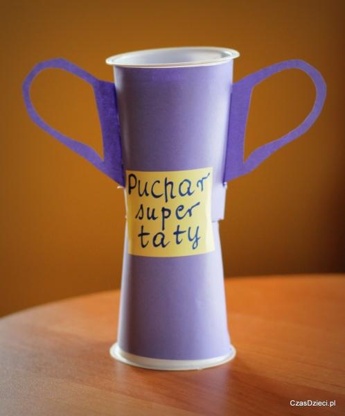 Puchar dla super taty na Dzień Taty, Czas Dzieci