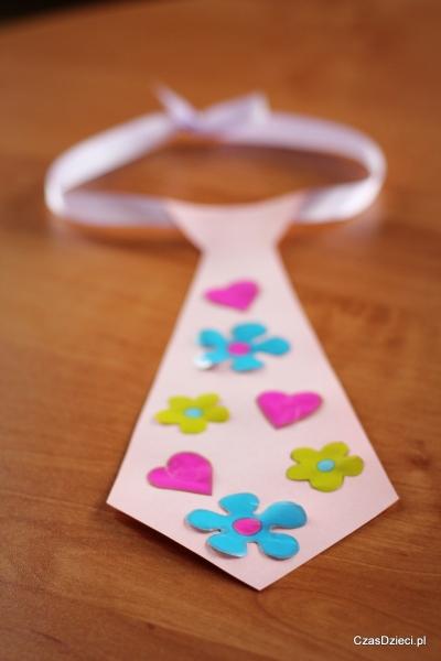 Laurka - krawat na Dzień Taty, Czas Dzieci
