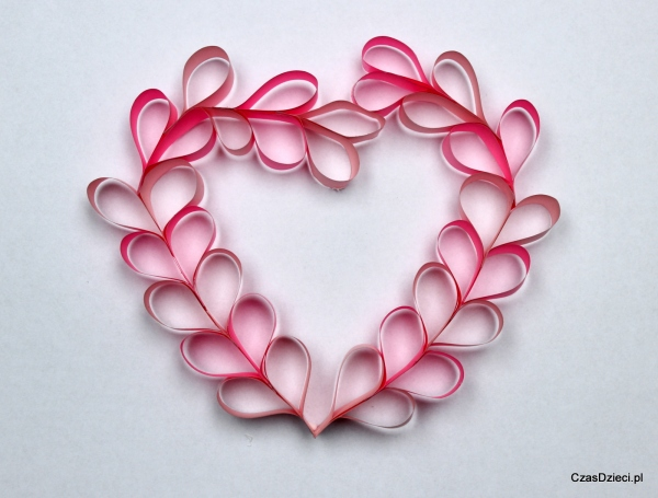 Papierowe Serce Na Walentynki Diy Czas Dzieci