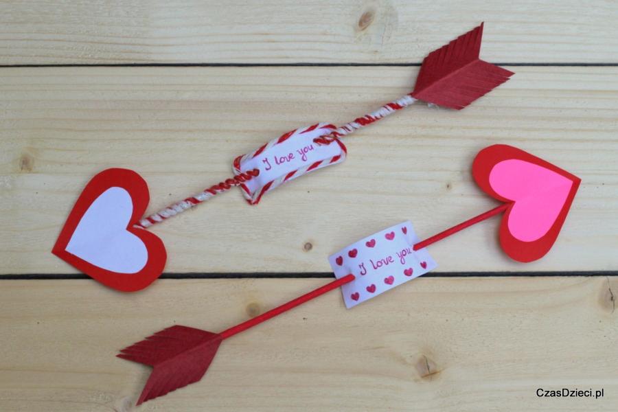 Walentynkowe Strzały Diy Czas Dzieci