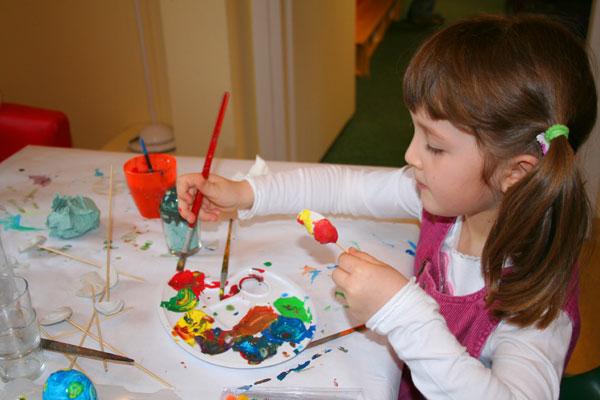 Dekoracje świąteczne Wielkanoc Diy Czas Dzieci