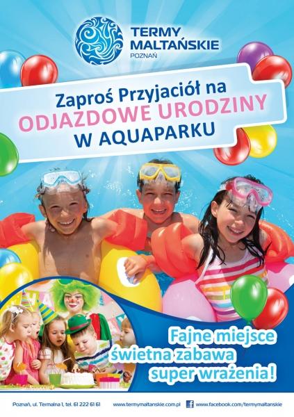 Urodziny W Aquaparku Poznań Czas Dzieci