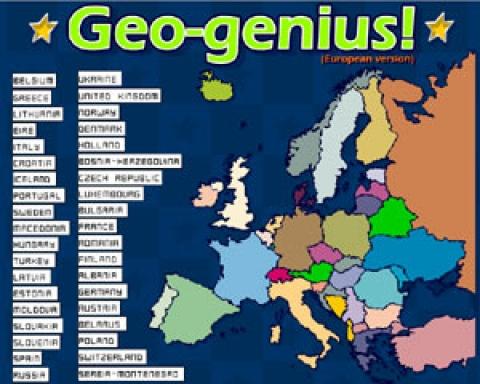 Geografia Dopasuj Kraje Europy Gry Dla Dzieci Czas Dzieci