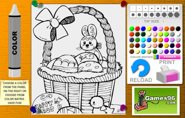 Wielkanocny Koszyczek Gry Dla Dzieci Czas Dzieci