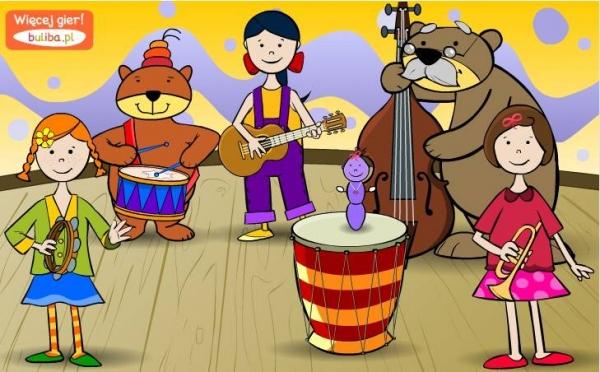 Gra Orkiestra Gry Dla Dzieci Czas Dzieci