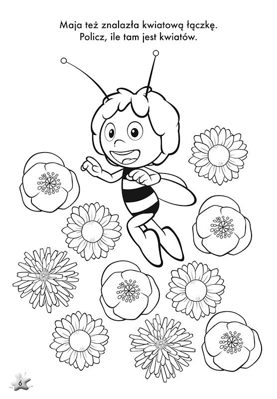 Pszczolka Maja Kolorowanki Czas Dzieci